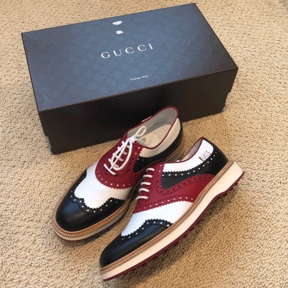 Gucci Shoes | Mens Brogue Golf Oxford